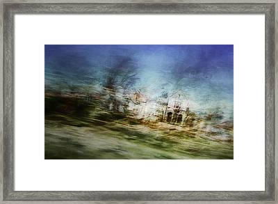 A Walk On The East Side Framed Print by Scott Norris