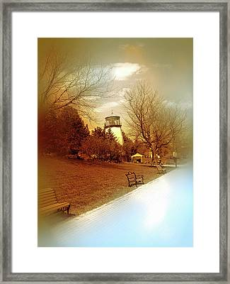 A Walk On The Waterfront Framed Print