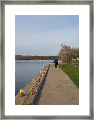 Framed Print featuring the photograph A Walk On The Wild Side - Photograph by Jackie Mueller-Jones