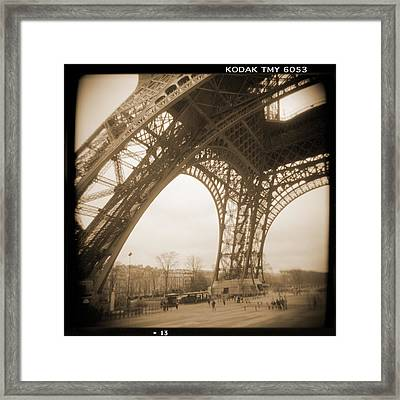 A Walk Through Paris 13 Framed Print by Mike McGlothlen