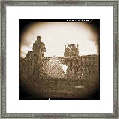 A Walk Through Paris 16 Framed Print by Mike McGlothlen