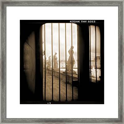 A Walk Through Paris 9 Framed Print by Mike McGlothlen