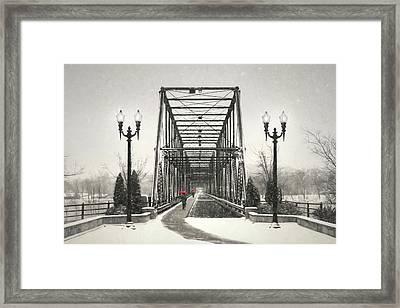 A Walk Through Time Framed Print