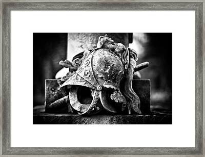 A Warrior Remembered Framed Print by Scott Wyatt