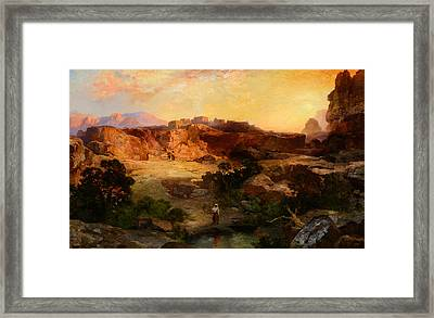 A Water Pocket Northern Arizona Framed Print by Celestial Images