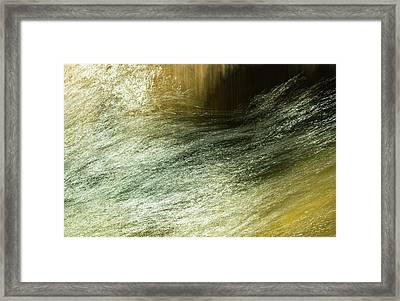 Framed Print featuring the photograph A Way Through by Deborah Hughes