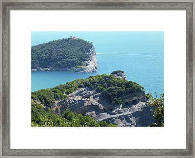 A Way To The Ocean Framed Print