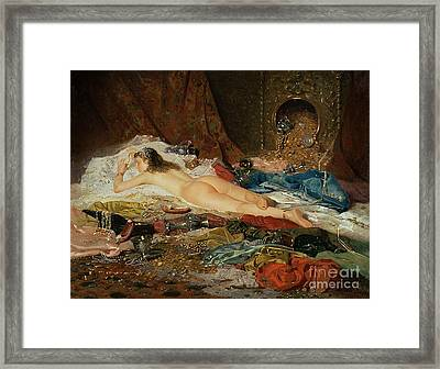A Wealth Of Treasure Framed Print by Della Rocca