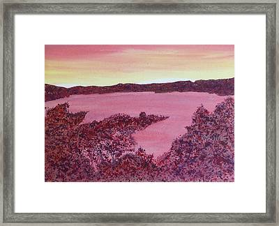Framed Print featuring the painting A Wee Bit O Heaven  by Joel Deutsch