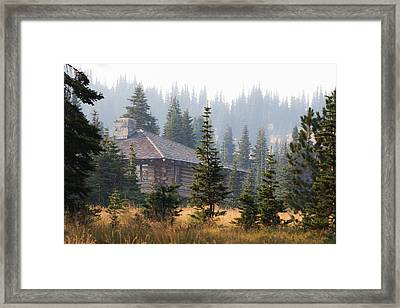 A Welcome Sight Framed Print by Angie Vogel