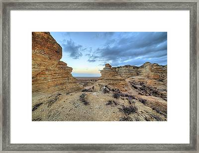 Framed Print featuring the photograph A Western Kansas Sunrise by JC Findley