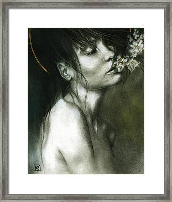 A Whisper Framed Print by Patricia Ariel
