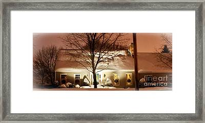 A White House Framed Print by Frank Garciarubio