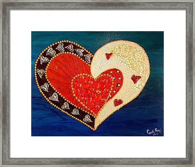 A Whole Lot Of Love Framed Print by Carole Ray