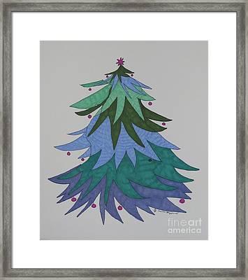 A Wild Christmas Tree Framed Print by James SheppardIII