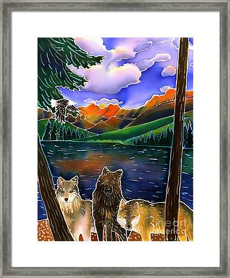 A Wild Place Framed Print by Harriet Peck Taylor