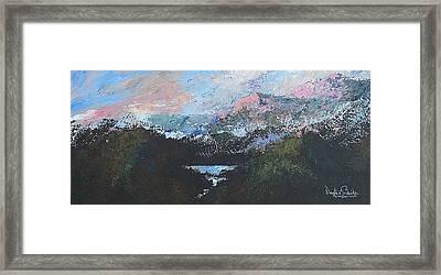 A Wilderness View Framed Print by Douglas Trowbridge