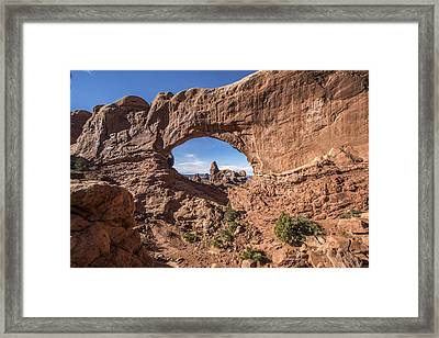 A Window To More Framed Print