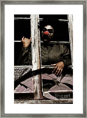 A Window To Nightmares Framed Print
