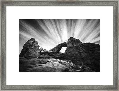A Window To The Sky II Framed Print