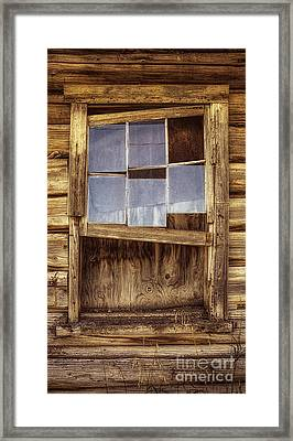 A Window Without A View Framed Print
