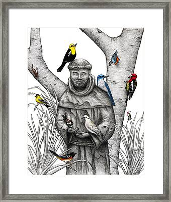 A Wing And A Prayer Framed Print
