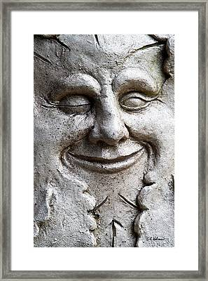 A Wink And A Smile Framed Print by Christopher Holmes