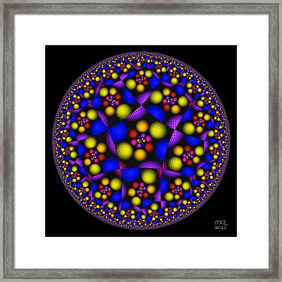 A Wink At Escher Framed Print