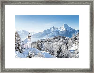 A Winter Fairytale Framed Print