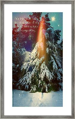 A Winter Solstice Night's Dream Framed Print