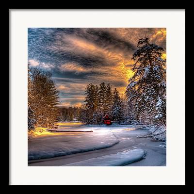 Kinkade Photographs Framed Prints