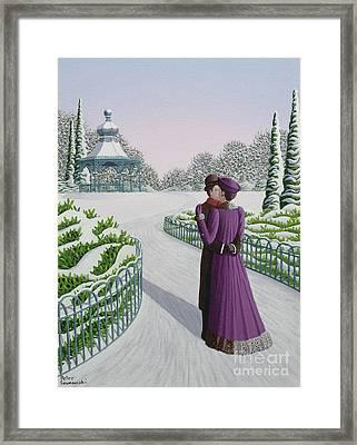 A Winter's Romance Framed Print