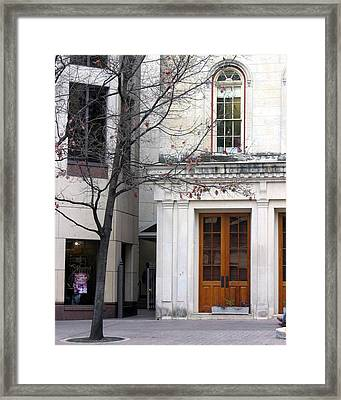 A Wintry Day Framed Print by Lindsey Orlando