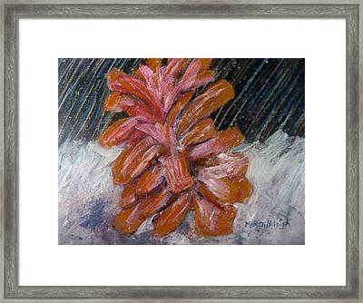 A Wintry Night Framed Print by Marita McVeigh