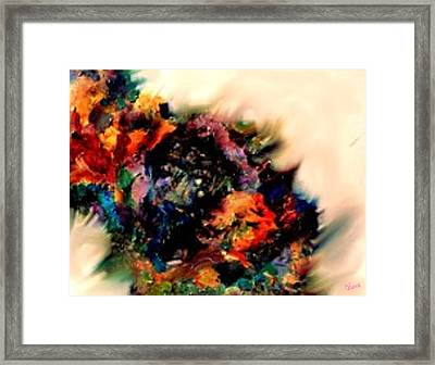 A Wise Woman Reawakened To Romance Framed Print by Christine Vincent