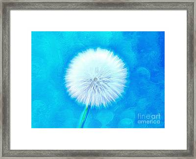 A Wish For You Framed Print by Krissy Katsimbras
