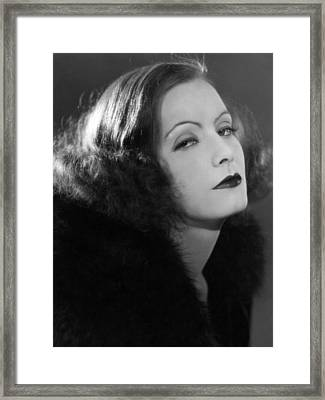 A Woman Of Affairs, Greta Garbo Framed Print by Everett
