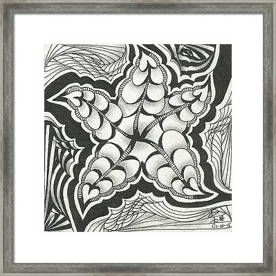 A Woman's Heart Framed Print