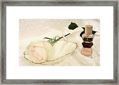 Framed Print featuring the photograph A Womans Touch by Marsha Heiken