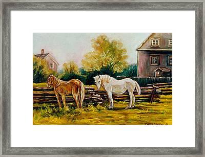 A Wonderful Life Framed Print by Carole Spandau