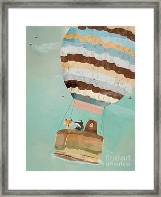 A Wondrous Little Adventure Framed Print