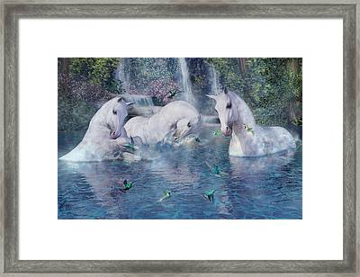 A World Beyond Framed Print