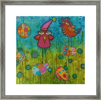 A World Of Gougouttes 1 Framed Print