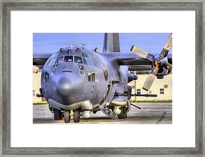 A World Of Hurt Framed Print by JC Findley