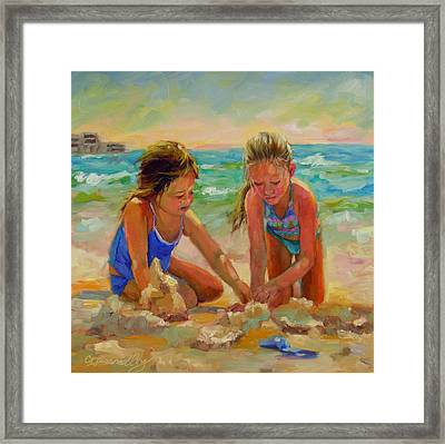 A World Of Their Own Framed Print