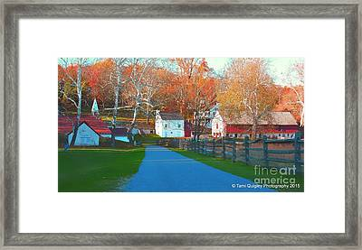 A World With Octobers Framed Print