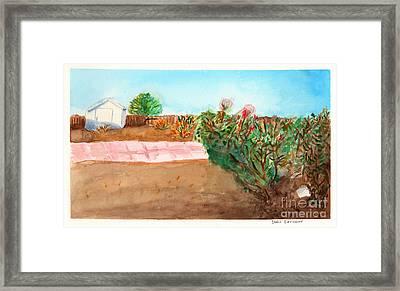 A Yard Framed Print by Debbie Davidsohn