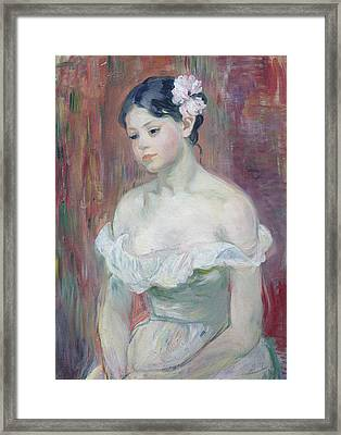 A Young Girl Framed Print