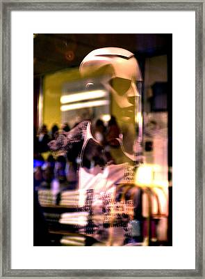A Younger Man Framed Print by Jez C Self