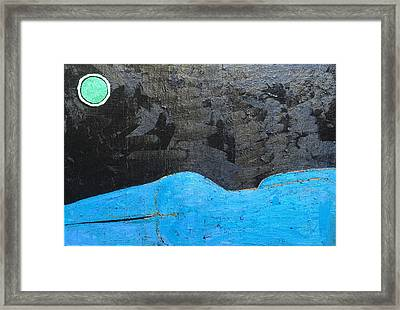 Framed Print featuring the painting A 9 Oil On Canvas 36 X 24 2015 by Radoslaw Zipper